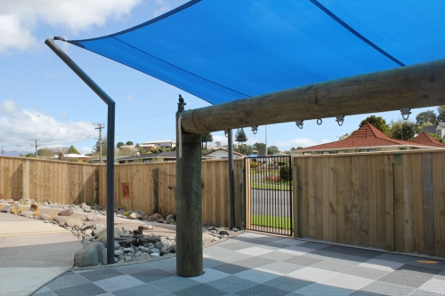 Capped Timber Paling Fence 1.8m high
