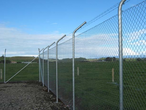 3m High Triple Barbed Security Fence