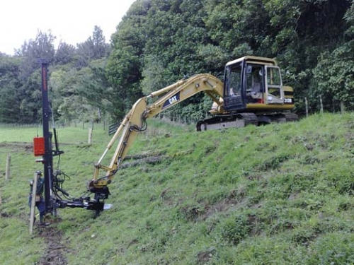 Excavator and Rammer